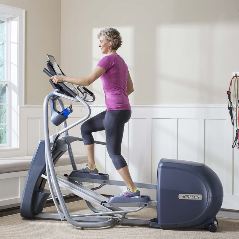 Precor EFX-425 Elliptical Floor Model