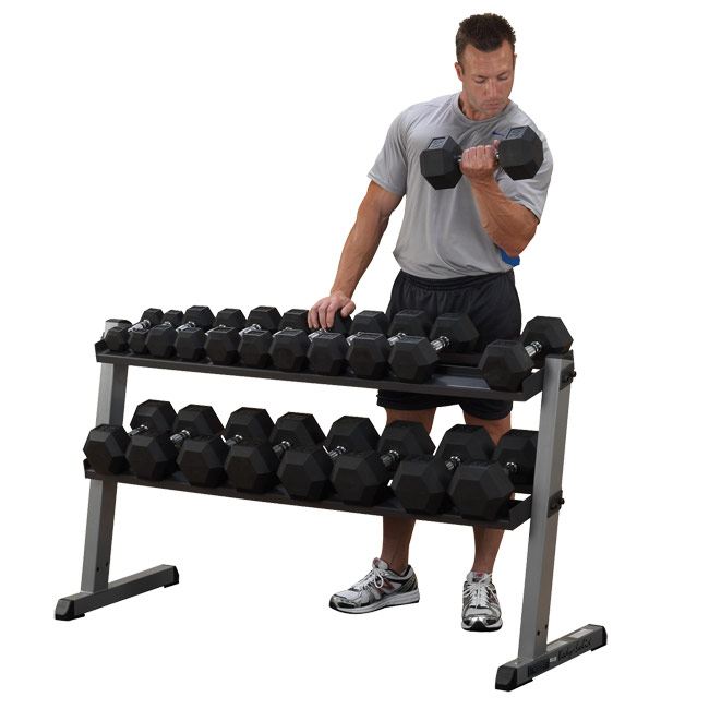 Body Solid SDRS550 Dumbbell Set